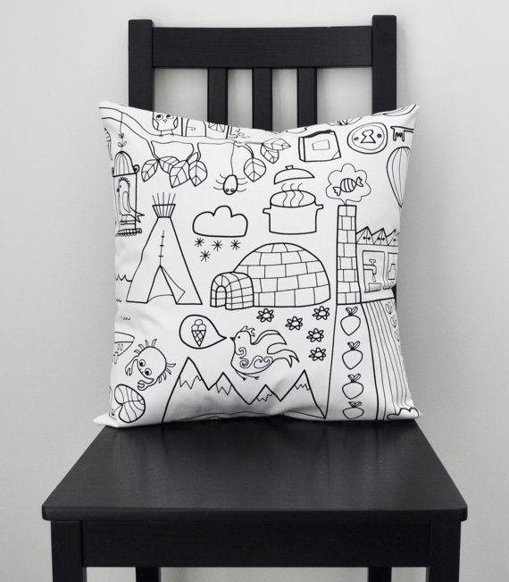 Fantasy Scenery Pillow by NYTL