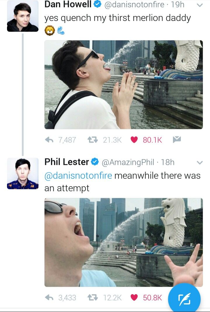 ... dan and phil in a nutshell