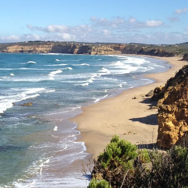 jan Juc surf beach near Geelong. I so want to be on a beach somewhere!