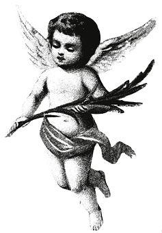 Angel, Vintage, Bibeln