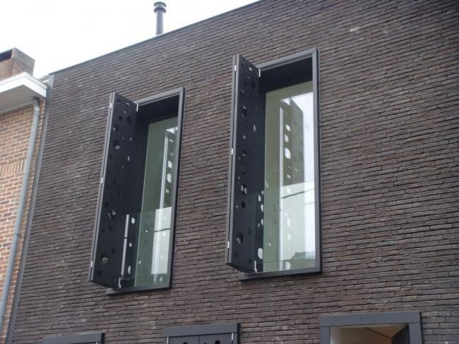 Corten staal voordeur google search berkelkade pinterest bricks and architecture - Architectuur staal corten ...