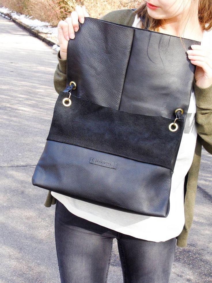 die besten 25 ledertasche n hen ideen auf pinterest taschen henkel henkeltasche und leder. Black Bedroom Furniture Sets. Home Design Ideas