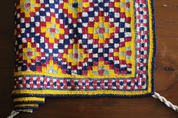 ANDAMAN | VINTAGE WALL HANGING / CRADLE CLOTH from www.thesilkroadshop.bigcartel.com  bohemian home decor global homewares travel boheme india indian vintage textiles interiors wall art wearable art