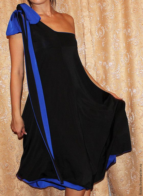 Купить Платье двухстороннее трансформер - разноцветный, однотонный, Трансформер, свадебное, на юбилей, на выпускной, вечернее, трикотаж