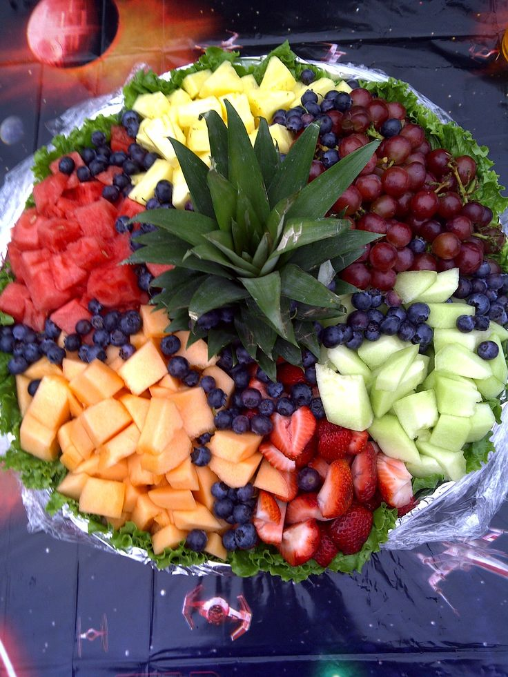 Fruit Tray for Toby's 8th