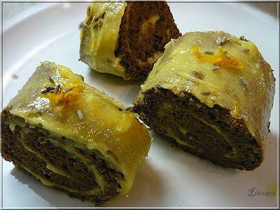 Limara péksége: Meyer lemon curd piskótában