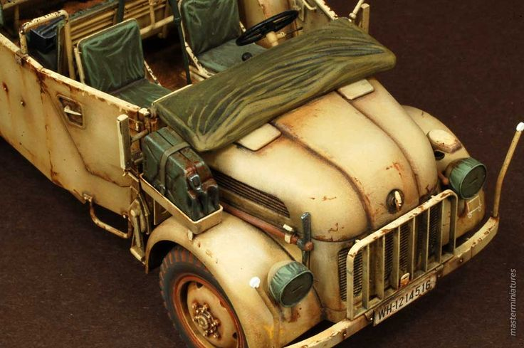 Steyr Type 1500A/01 - Master Miniatures Gallery