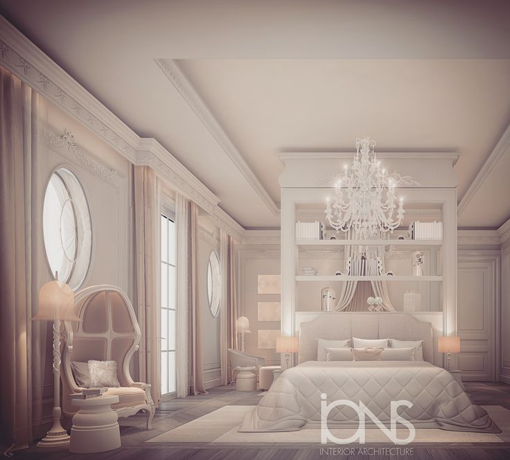 Bedroom Design Private Palace: Bedroom Design - Private Residence