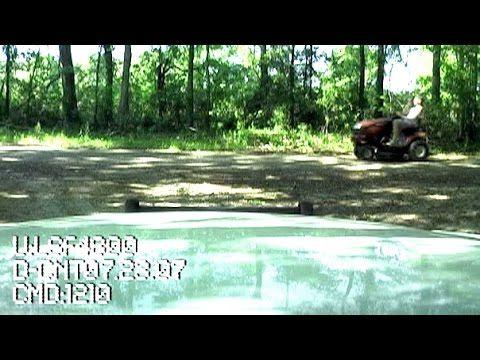 ▶ Steves Riding Lawn Mower DUI Taser Arrest - YouTube