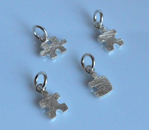 Collana puzzleciondolo argento 925ciondolo di VMJewelryDesign