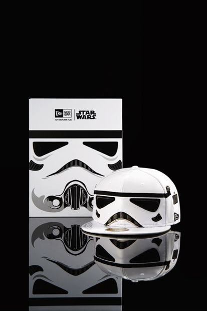 Image of New Era x Star Wars 59FIFTY® Cap Collection. Stormtrooper.