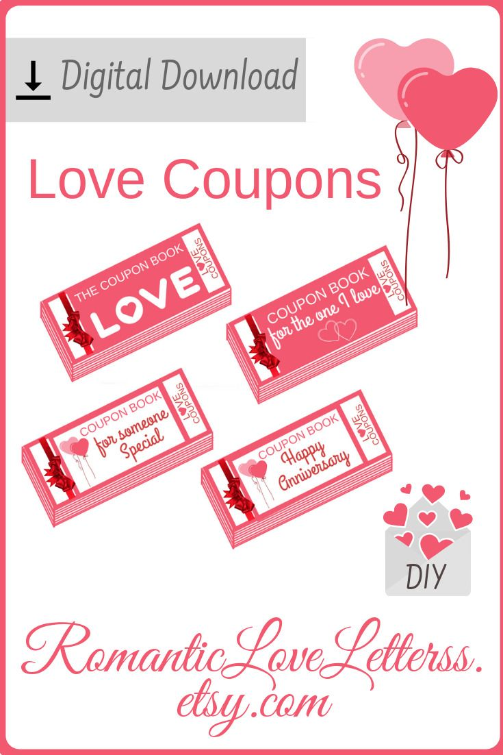 Date Night Gift Coupon Book For Husband Diy Love Coupons For Etsy Love Coupons Anniversary Ideas For Him Coupon Book Diy