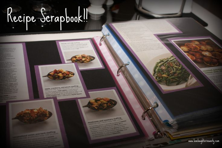 Pin ItRemember last January when I announced my new Recipe Scrapbook project? Well, I'M FINISHED!!! Except for those recipes that I recently tore out of my Real Simple magazines–but as …