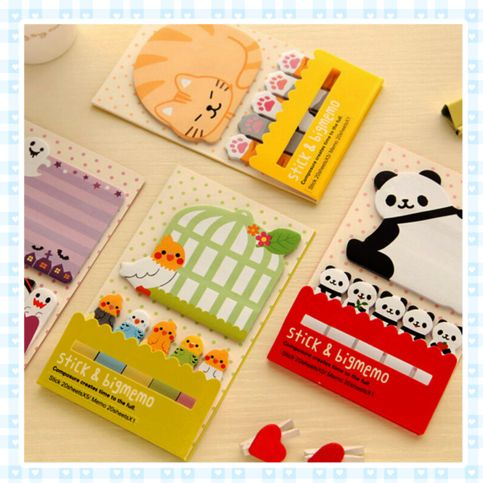 Animal Memo-Pads *FREE SHIPPING on Storenvy
