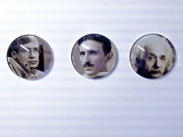Hawkins Tesla Einstein needle minder - needleminder pinminder needlecraft accessory by UnconventionalX on Etsy