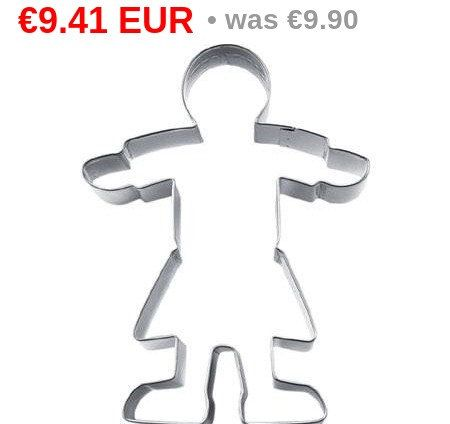 SUMMER SALE 5% off *****  Girl #Cookie cutter 12 cm S039124  *****  Size 12cm  Features: it's easy to use cut-outs ! just roll out #fondant on your roll & cut mat many designs and sizes ca... #cookiecutter #silicone #etsy #housewares #kitchen #cookie #cake