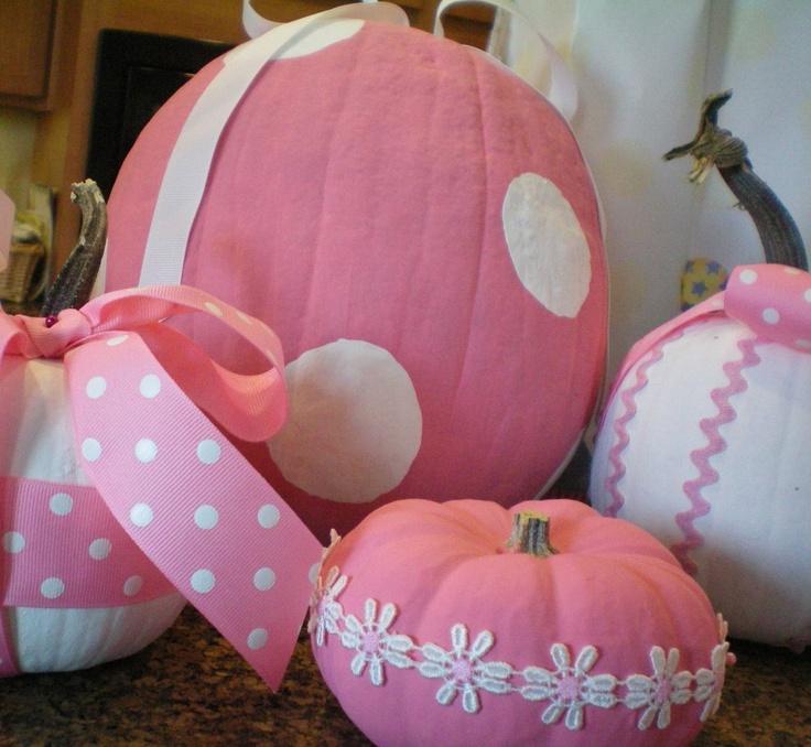~ Pink Pumpkins