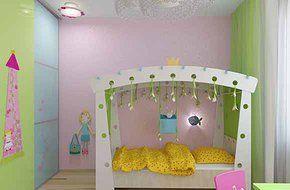 Детские и подростковые комнаты. Architect Irina Richter. INSIDE-STUDIO Prague