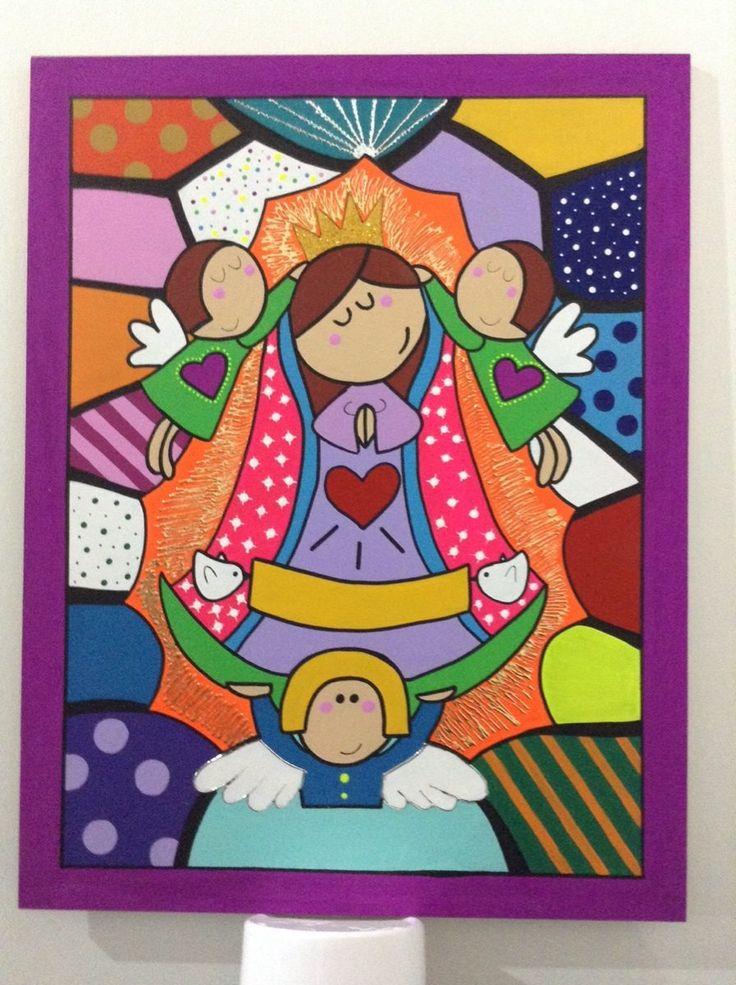 Cuadro Infantil Virgen De Guadalupe Car Tuning