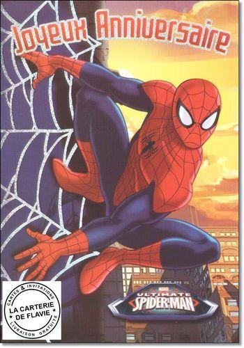Cartes Spider Man pour offrir à son anniversaire, à retrouver sur notre site: http://lacarteriedeflavie.com/Cartes-Spider-Man-Anniversaire-fete-invitation