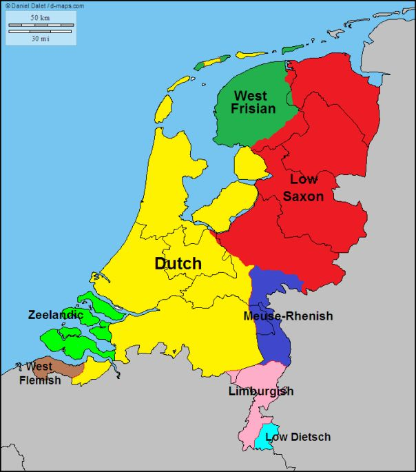 Languages of Netherlands