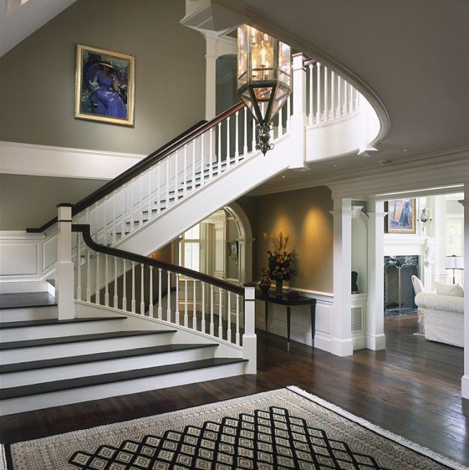 Foyer Layout Jobs : Images about entry foyer stairs french country