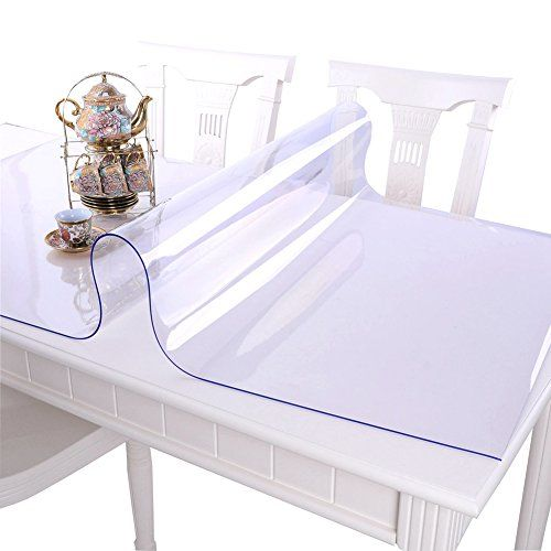 F-NICE Multi Size 1.5mm Thick Custom Clear PVC Table Cover