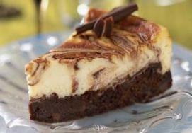 Caramel Cheesecake Swirl Brownies