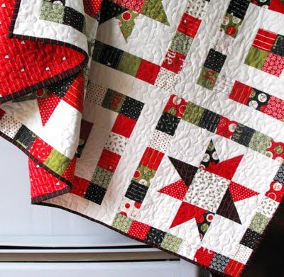 Starry Eyed Quilt: Stars Quilt, Moda Baking, Baking Shops, Eye Quilt, Yards Solid, Christmas Quilt, Layered Cake, Starry Eye, Abstract Quilt