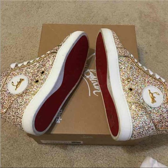 Christian Louboutin Sneakers Worn once c708d71a8c