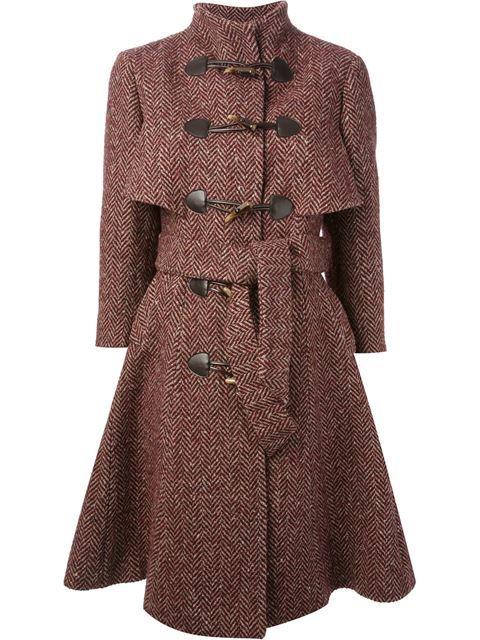 Stella Jean Double Breasted Coat - Al Duca D'aosta - Farfetch.com
