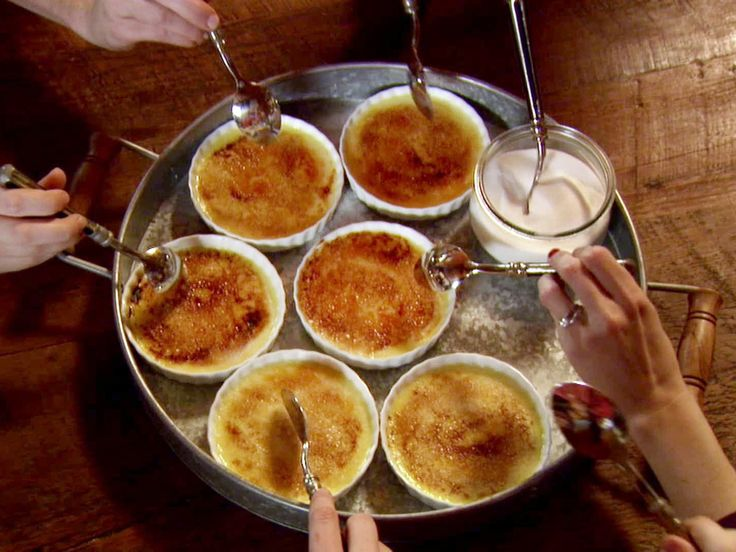 Creme Brulee recipe from Ree Drummond via Food Network