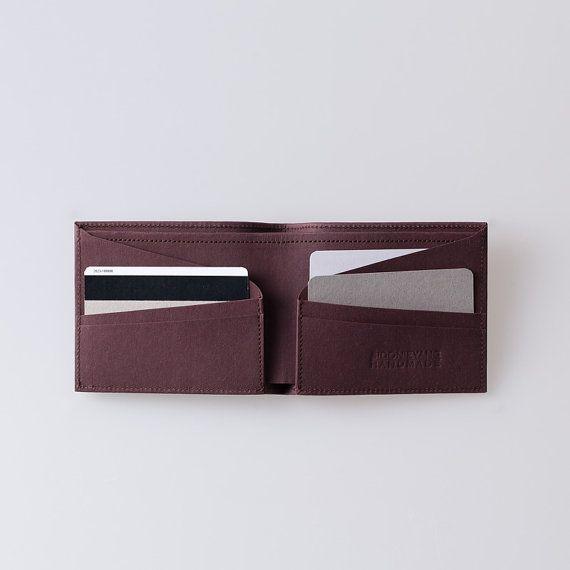 Mens Wallet / Minimalist Super-Thin Washable Paper by SIDONIEYANG