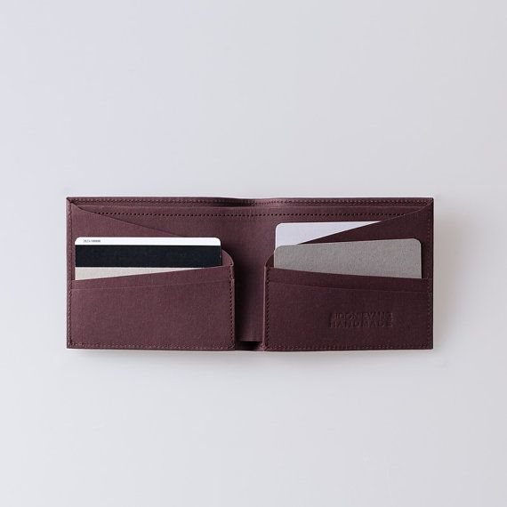 Mens Wallet / Minimalist Super-Thin Washable Paper by SIDONIEYANG