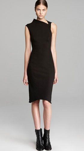 Классическое и актуальное платье-футляр. Фото галерея