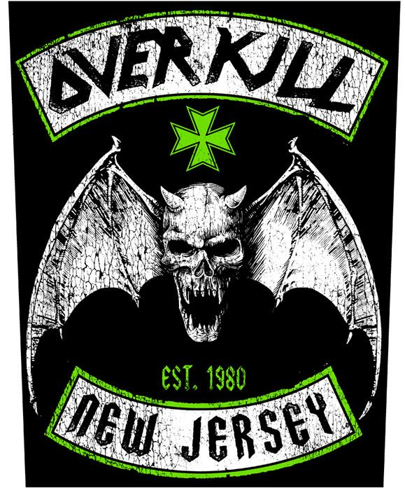 Overkill - New Jersey - Backpatch TShirtSlayer TShirt