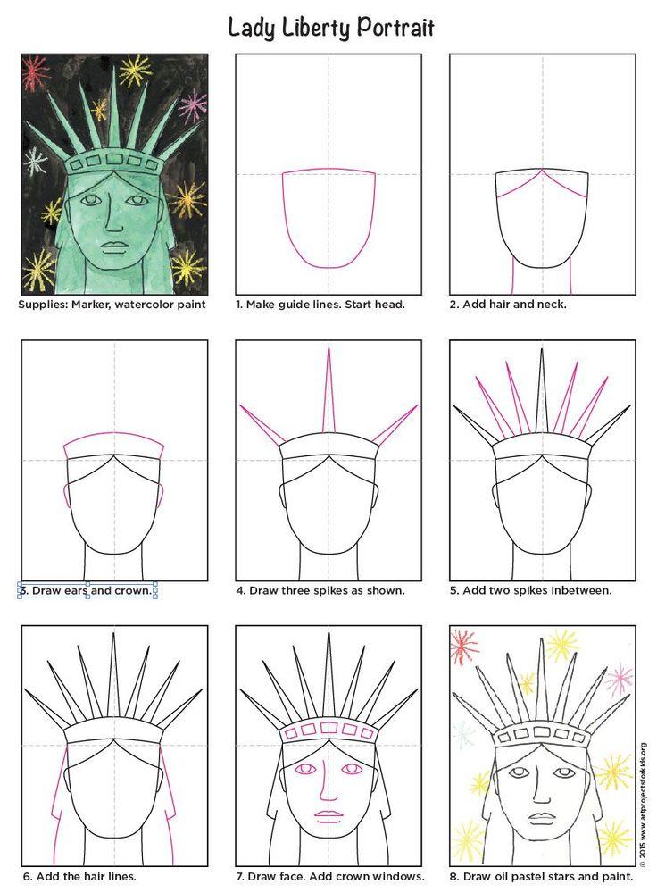 94 Best Images About Patriotic Art Projects On Pinterest