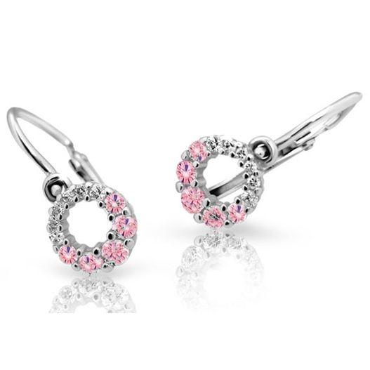 Dětské náušnice Cutie C2154B Pink | Levné Šperky CZ