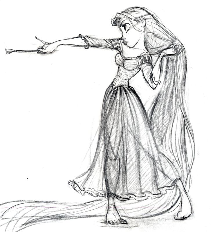 The amazing Glen Keane - Tangled