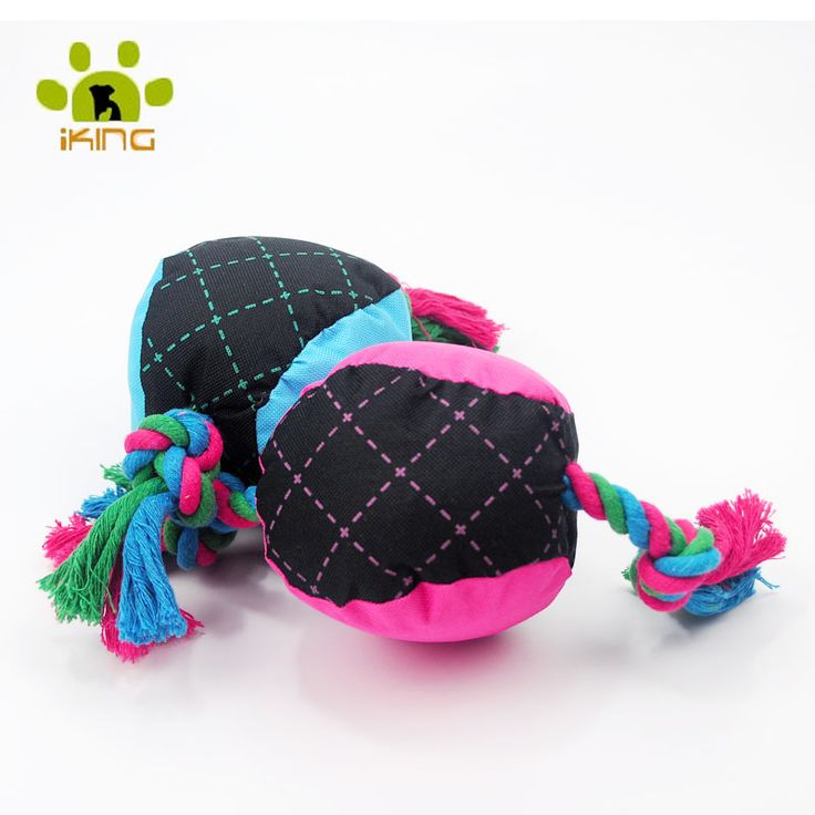 Wholesale Pet Supplies New Dog Toys Mascotas Brinquedo Durable Braided Ball Dog Pet Toy Puppy Sound Chew Throw With Squeaky
