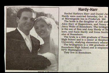 Hardy - Harr funny wedding announcements | Funny wedding announcements!
