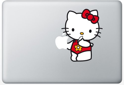 Shoply.com -Hello Kitty macbook decal sticker. Only $9.90