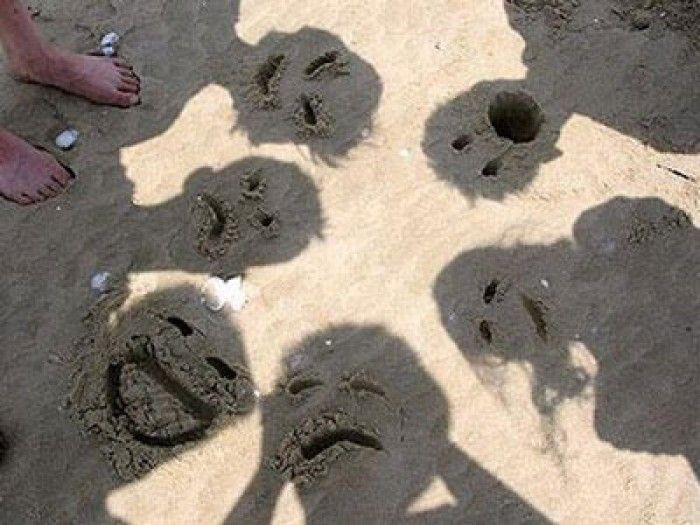Leuk idee voor op het strand! Van Pinterest