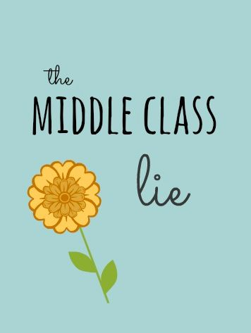 It might be time to change that mental money script and escape the middle class lie for good!