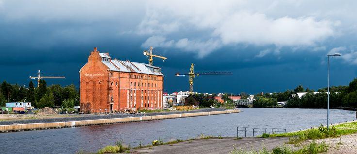 Old mill in Oulu Finland | by arto häkkilä