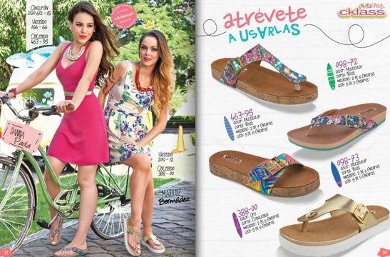 catalogo calzado cklass 2015