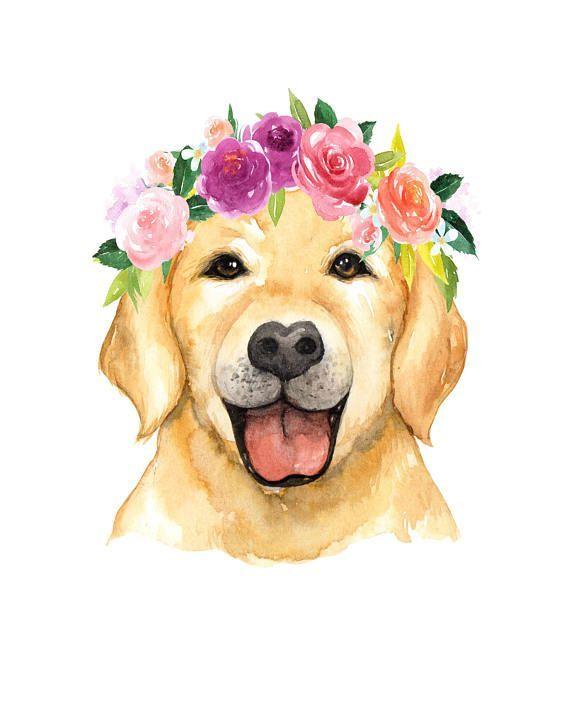 Baby Animal Prints Baby Animal Nursery Art Animals With Flower Crowns Floral Nursery Art Anim…