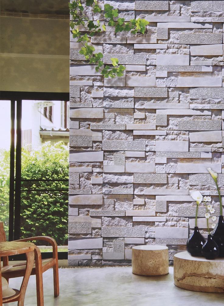 Duvar Kağıdı, G. Stone Art Kataloğumuzdan bir uygulama.