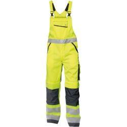 Dassy Safety Glasgow – Warnschutz Bundhose mit Kniepolstertaschen – neongelb/dunkelblau – kurz – Gr.