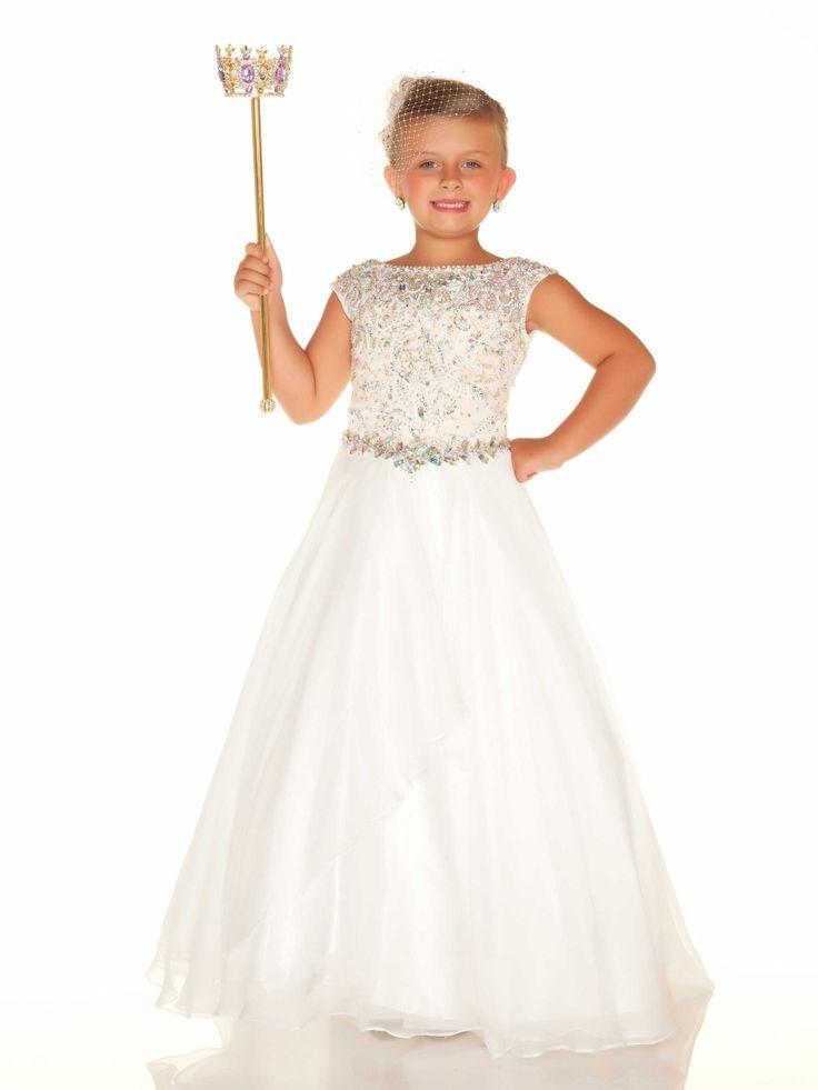 Everything Formals - Sugar Little Girls Pageant Dress 48600S, $498.00 (http://www.everythingformals.com/MacDuggal-Sugar-48600S/)